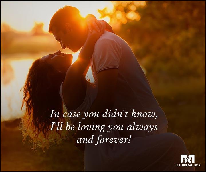 Wish Never I Let You Go I