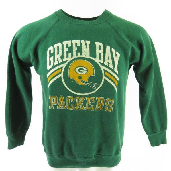 Vintage 80s Green Bay Packers Champion Sweatshirt Mens L