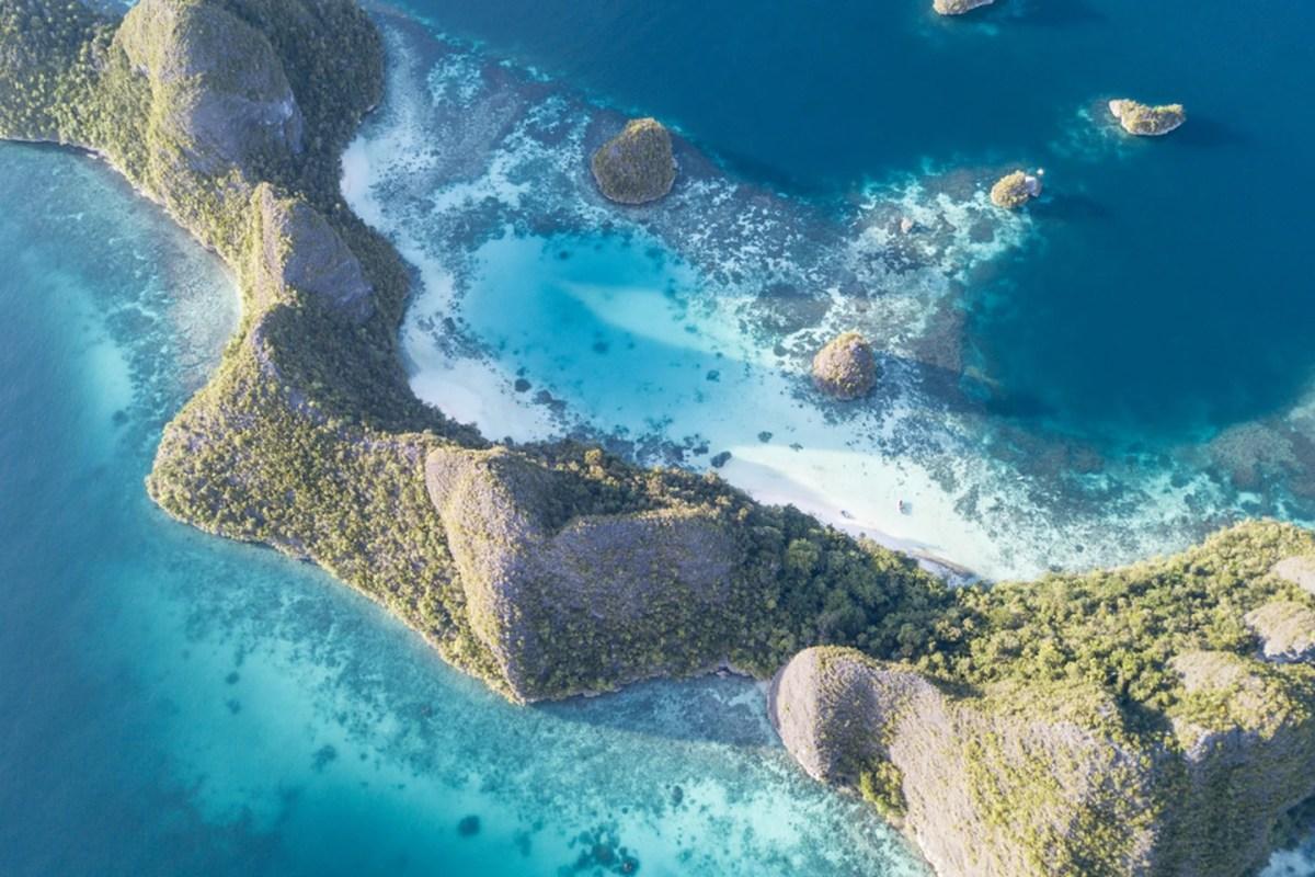 Island in Wayag, Raja Ampat, Indonesia