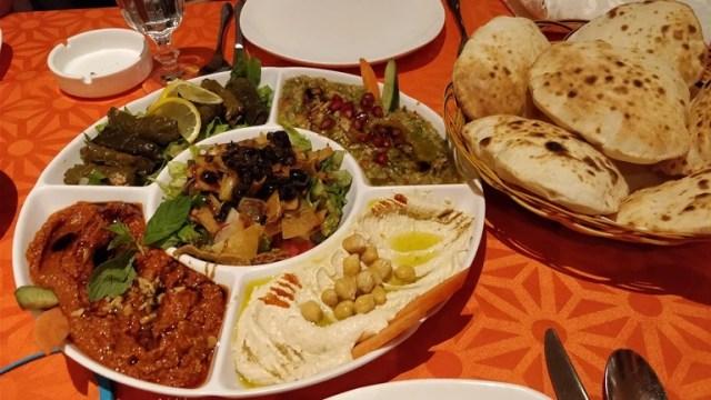 Mixed Appetizer at Al Shami Home Restaurant