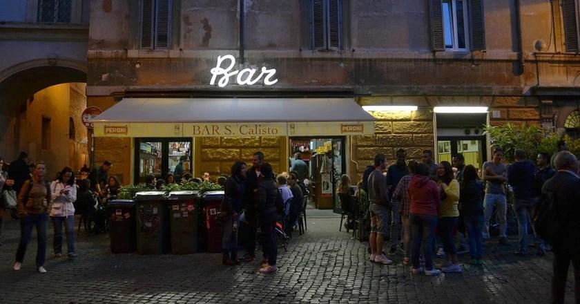 The Best Bars In Trastevere Rome
