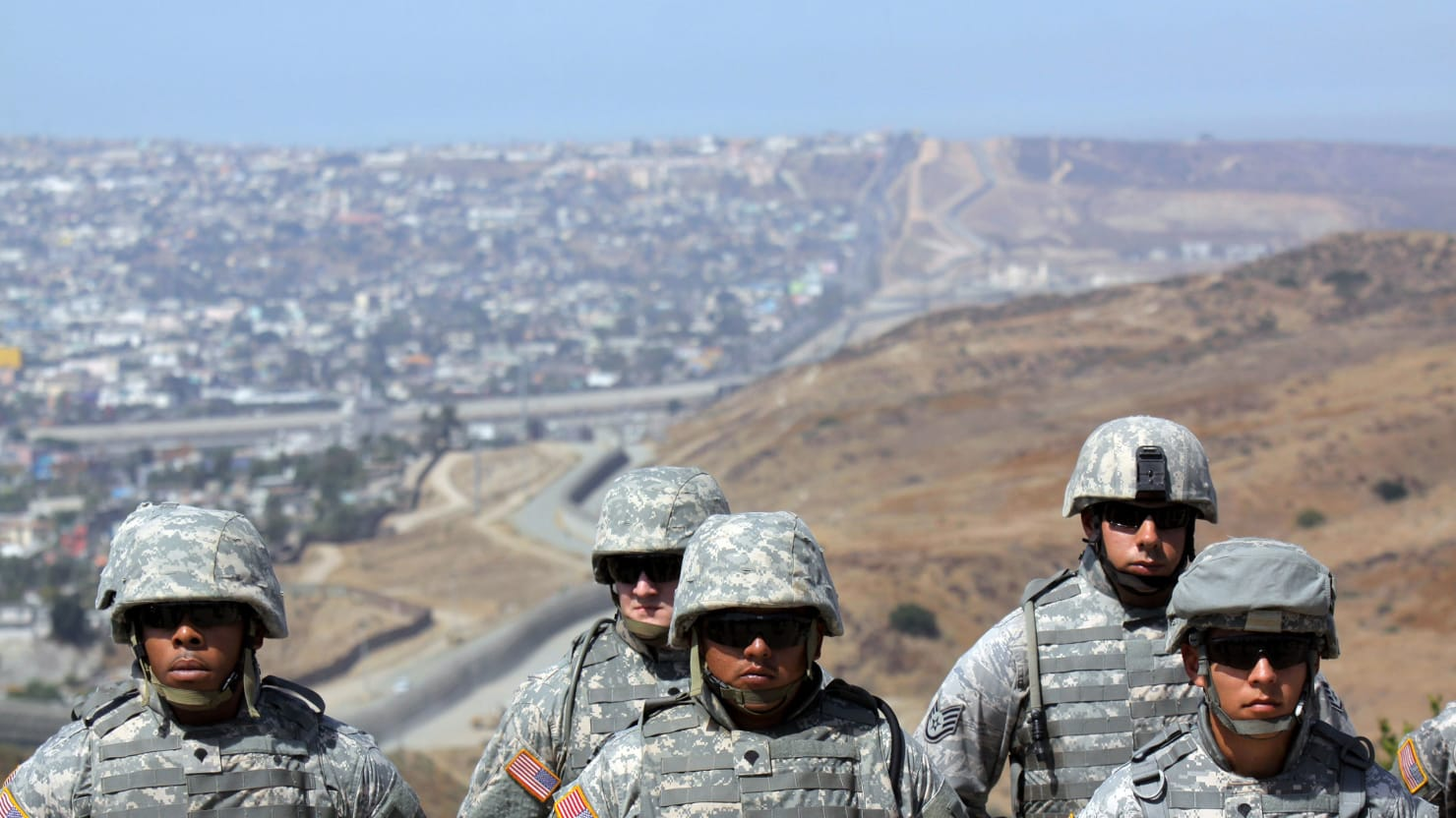 Homeland Security on APs National Guard Absolutely Incorrect