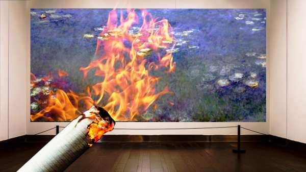 Modern Art Monet Paintings