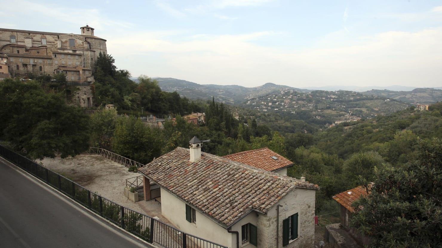 The Perugia House Where Meredith Kercher Was Murdered Is
