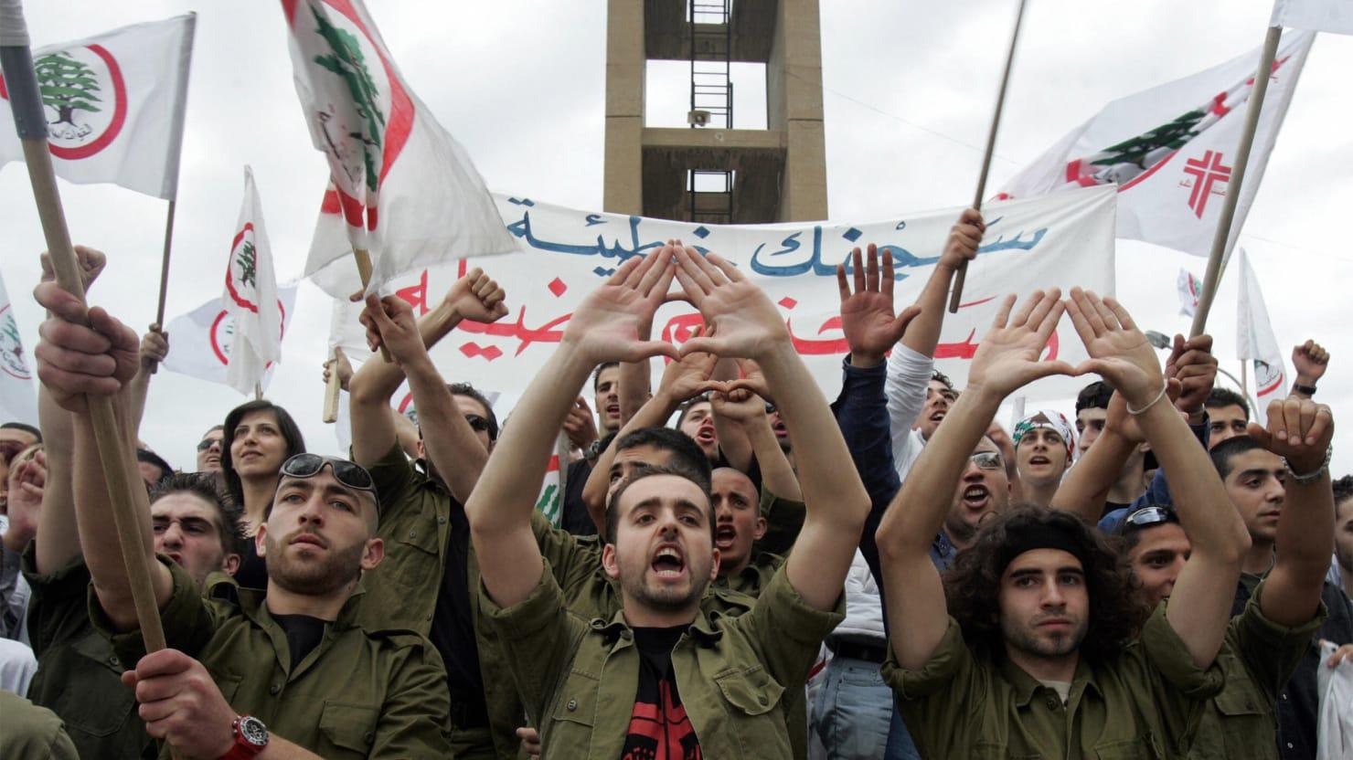 Lebanese Christians Gun Up Against ISIS