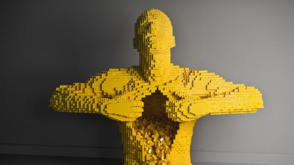 Amazing Lego Sculptures Blow Mind
