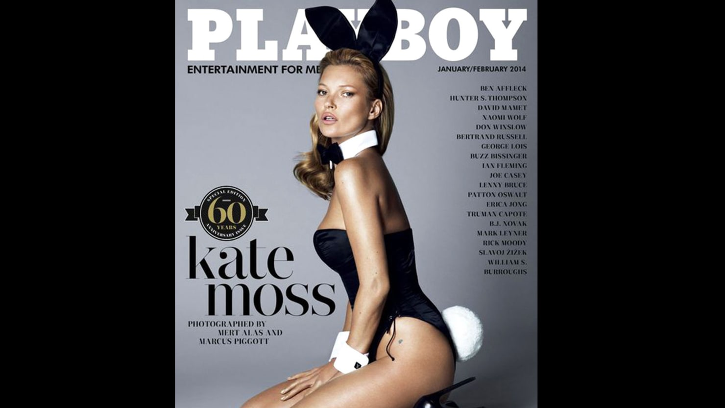 Not So Fast Playboy the Kate Moss Cover May Not Be a