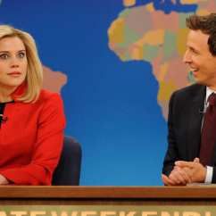 Blue Fl Sofa Cover Cat Scratched Leather Kate Mckinnon Is The Future Of 'saturday Night Live'
