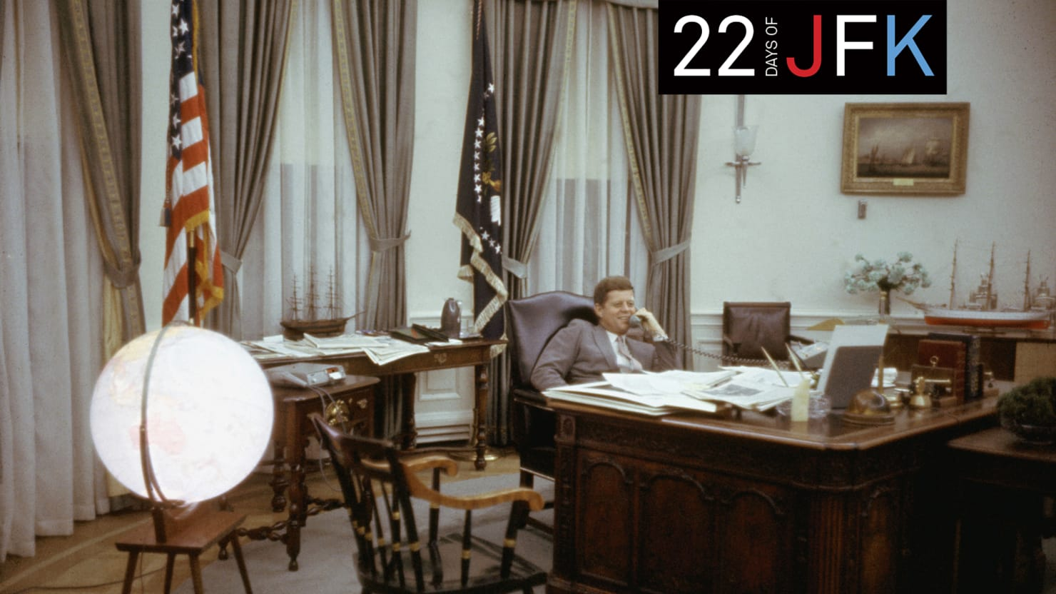 JFKs Favorite Things Inside Our 35th Presidents Oval Office