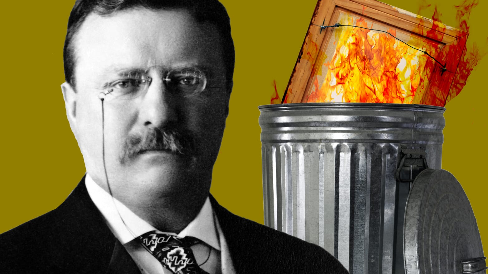 theodore roosevelt hated his