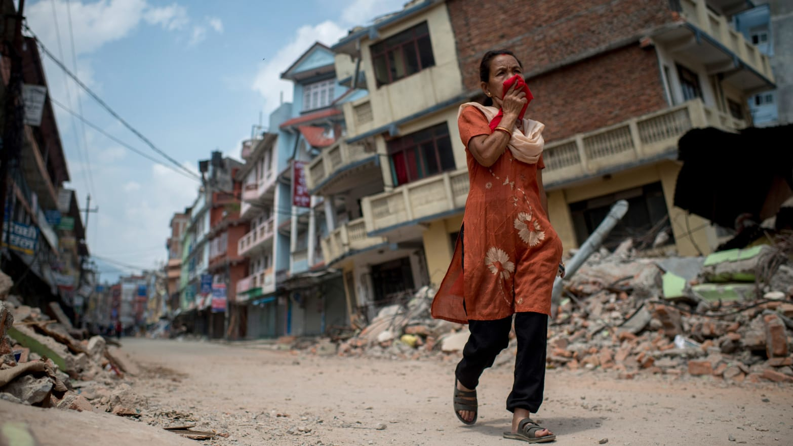 Off The Tourist Track, Nepal Still Scarred By The Quake