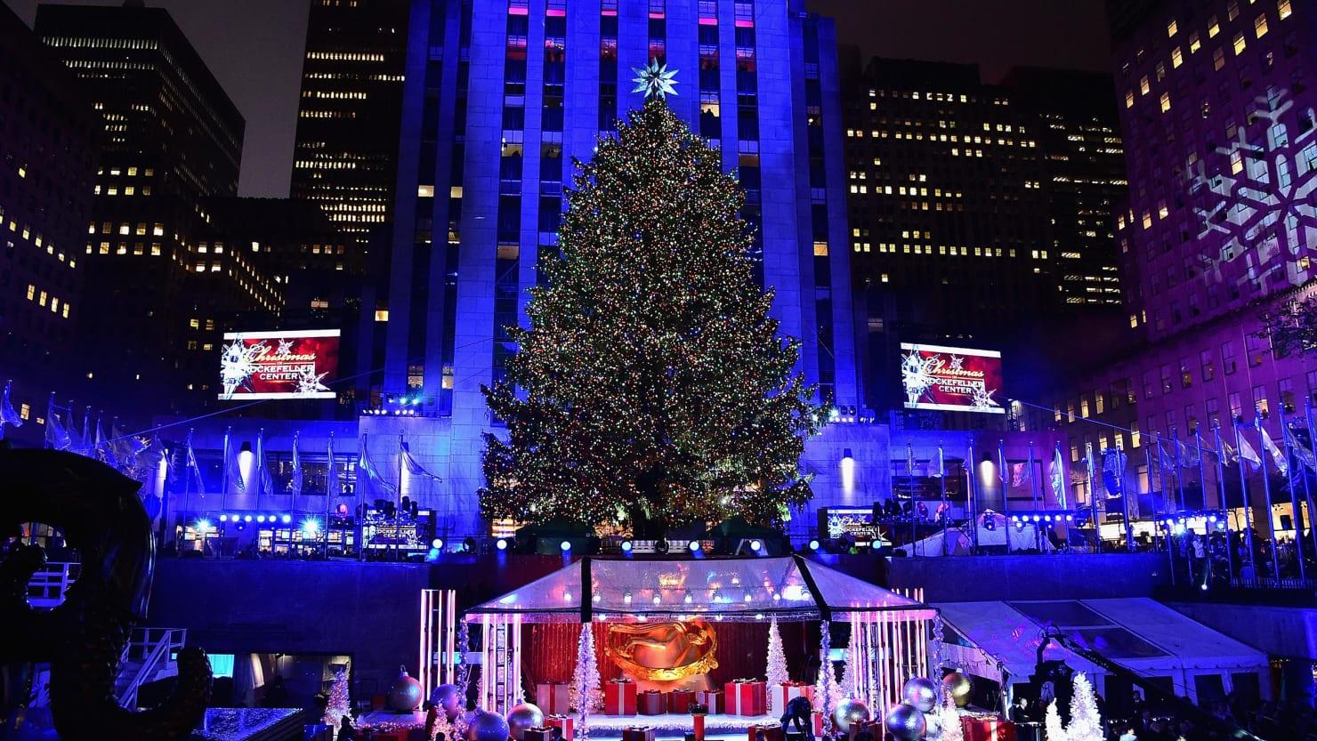 2017 Tree Lighting Rockefeller Christmas