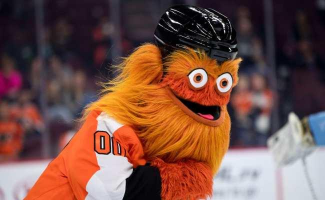 Gritty The Philadelphia Flyers Bizarre New Mascot Is