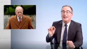John Oliver scoffs at the incestuous relationship of Prince Philip and Queen Elizabeth II