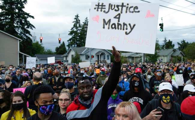 Manuel Ellis S Killing By Tacoma Cops Could Reignite Protests