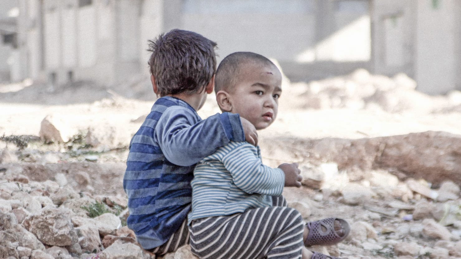 Growing Up in a War Zone Permanently Damages Kids Brains