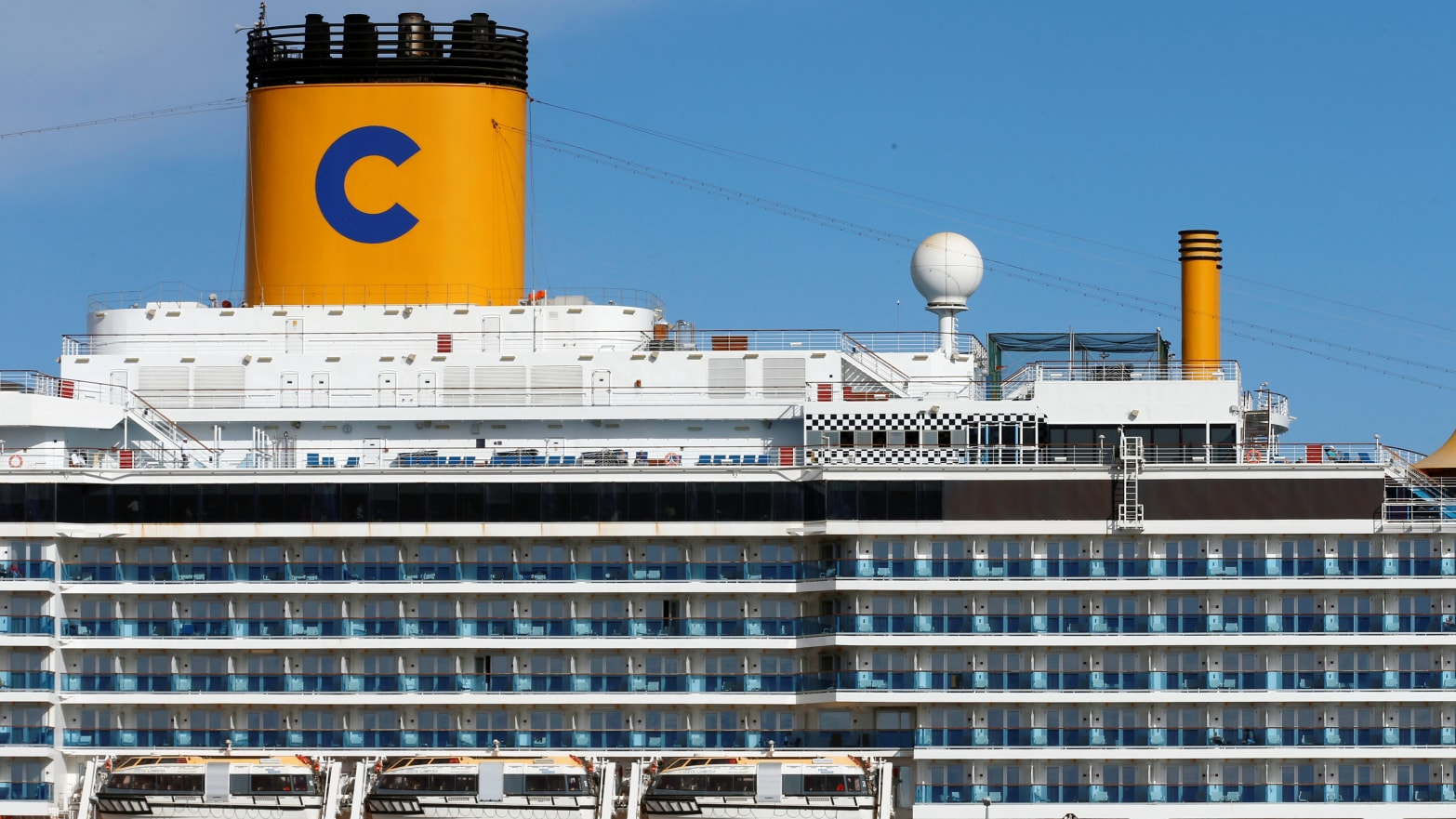 7,000 People Trapped on Mediterranean Cruise in Italy Over ...