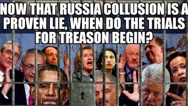 trump shares crazy image