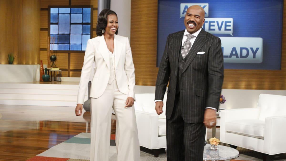 Steve Harvey on Hosting Michelle Obama His New Talk Show