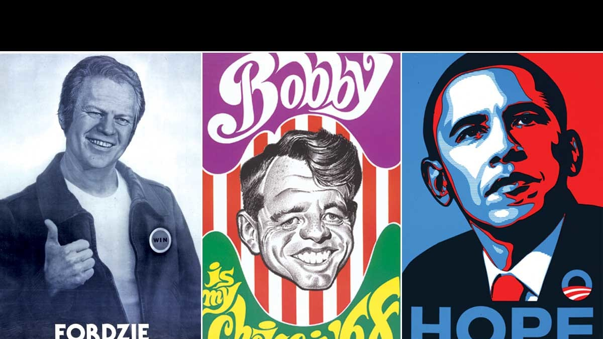 11 Best US Presidential Campaign Posters Of All Time