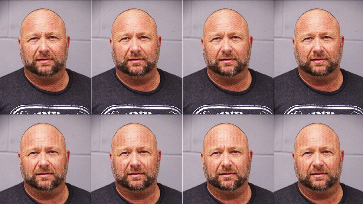 Conspiracy Theorist Alex Jones Arrested on DWI Charge