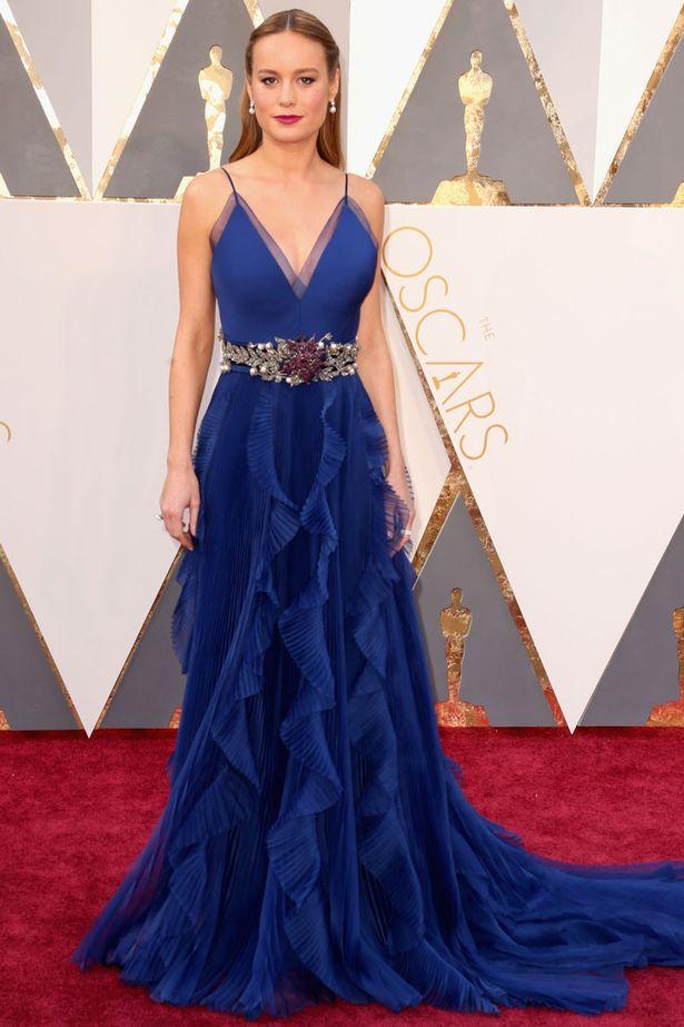 Oscars 2016 best dressed Brie Larson