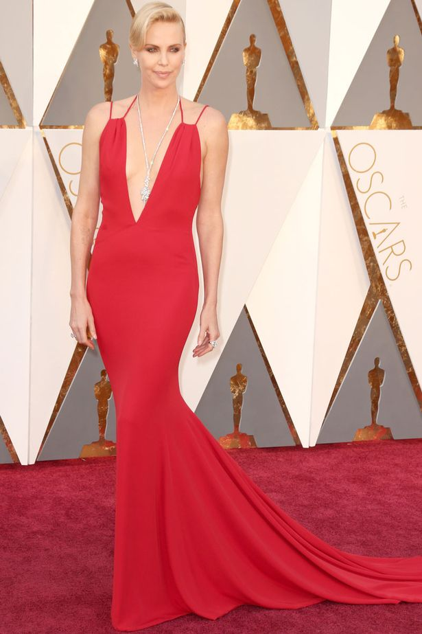 Oscars 2016 best dressed Charlize theron