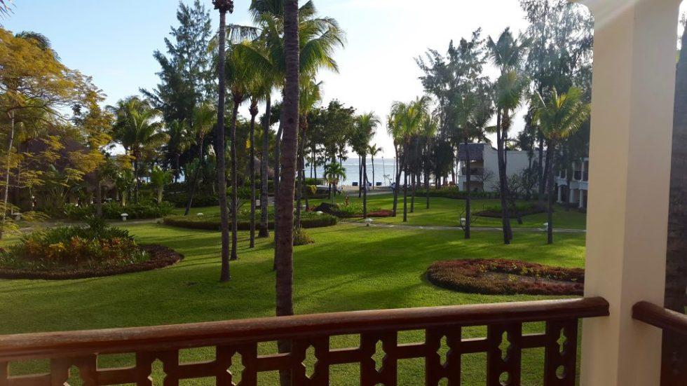 Balcony view, Hilton Mauritius
