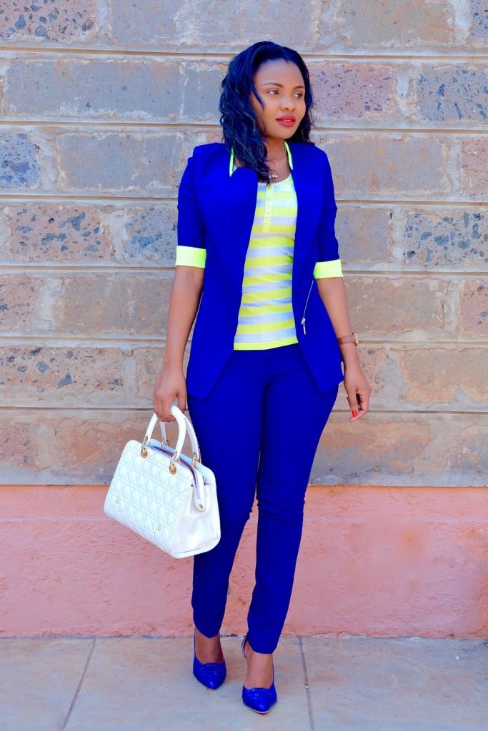 blue pantsuit outfit 2