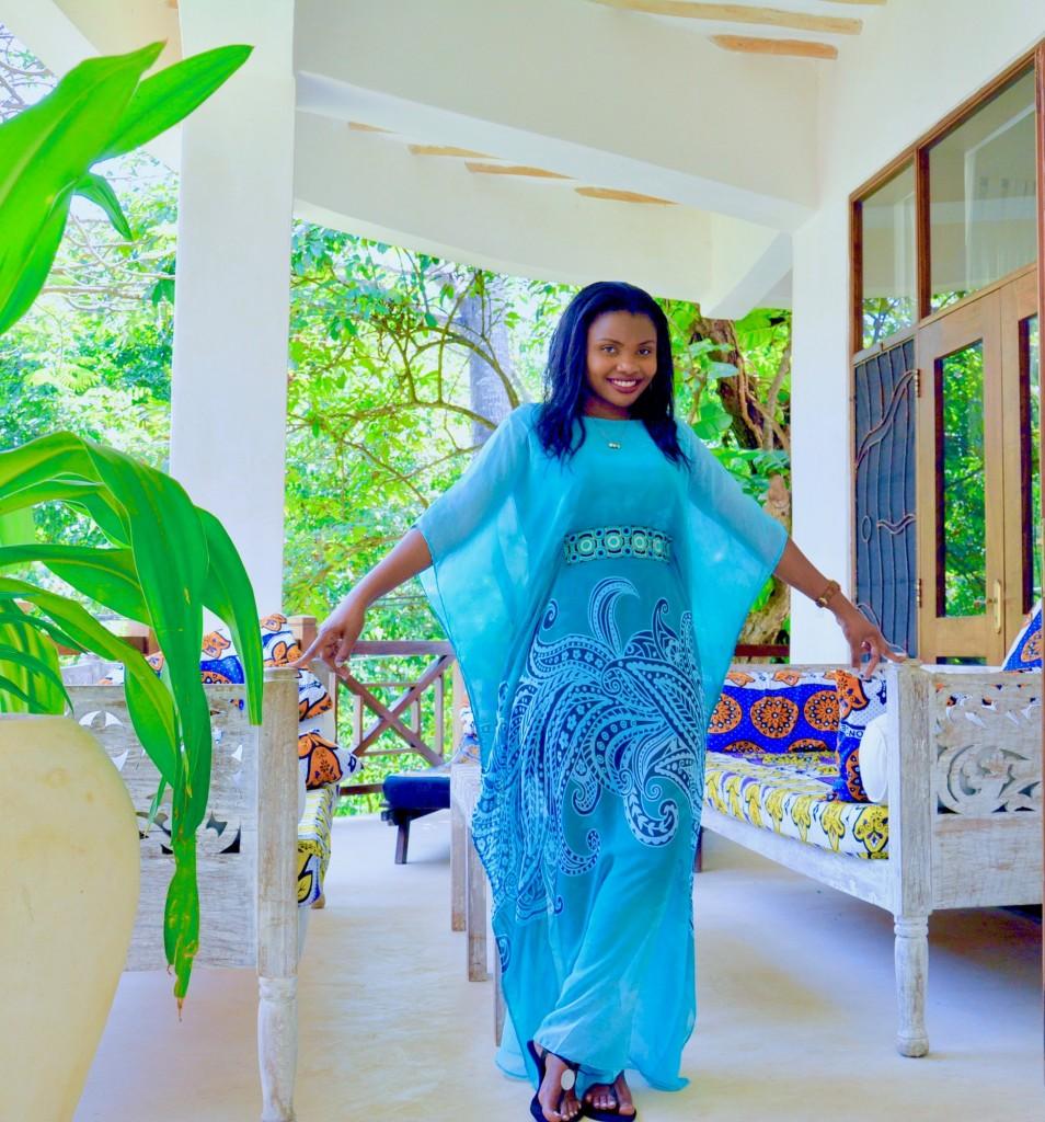 kaftan dress outfit