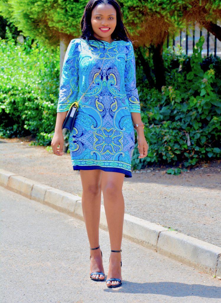 floral shift dress 1
