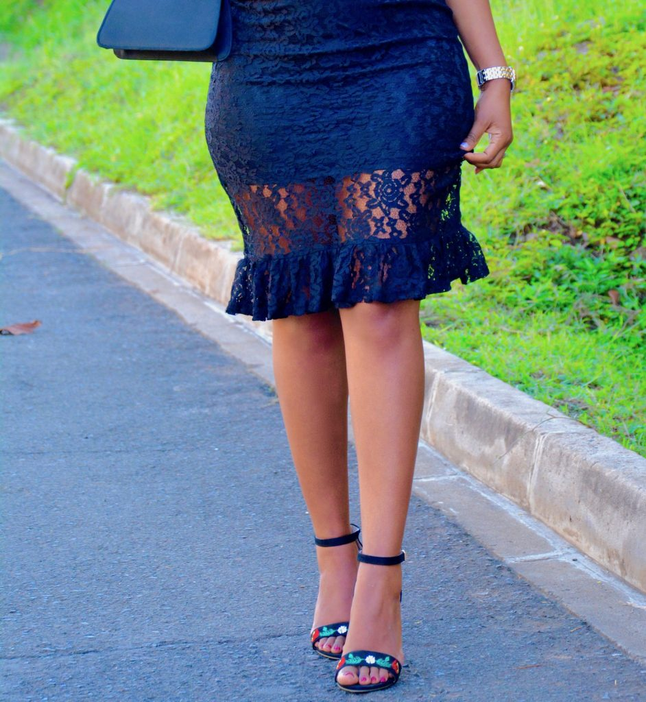 pregnancy date night outfit lbd