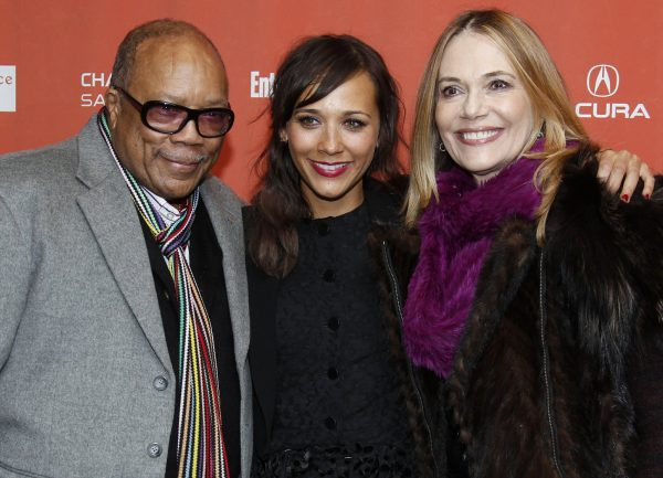 Peggy Lipton and family