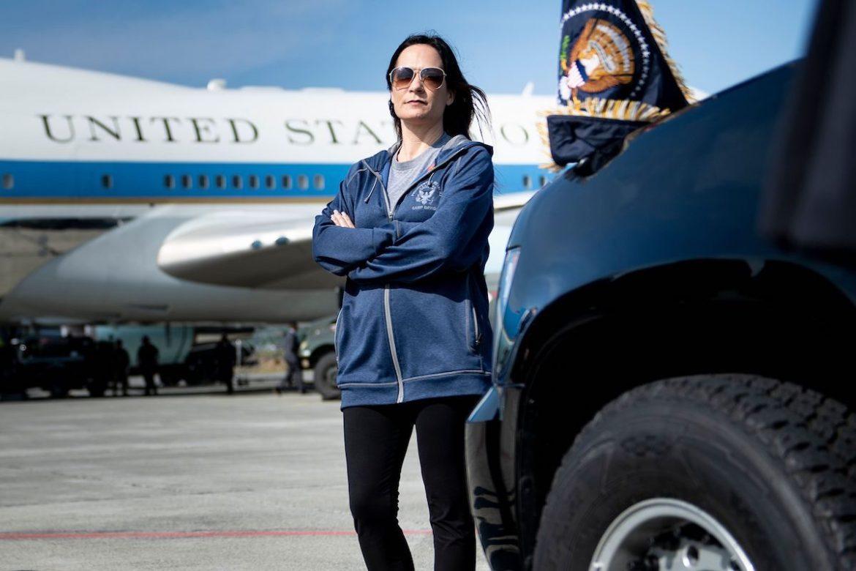 Acting White House Press Secretary Stephanie Grisham