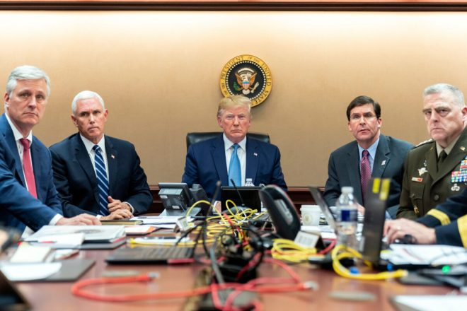 trump in situation room