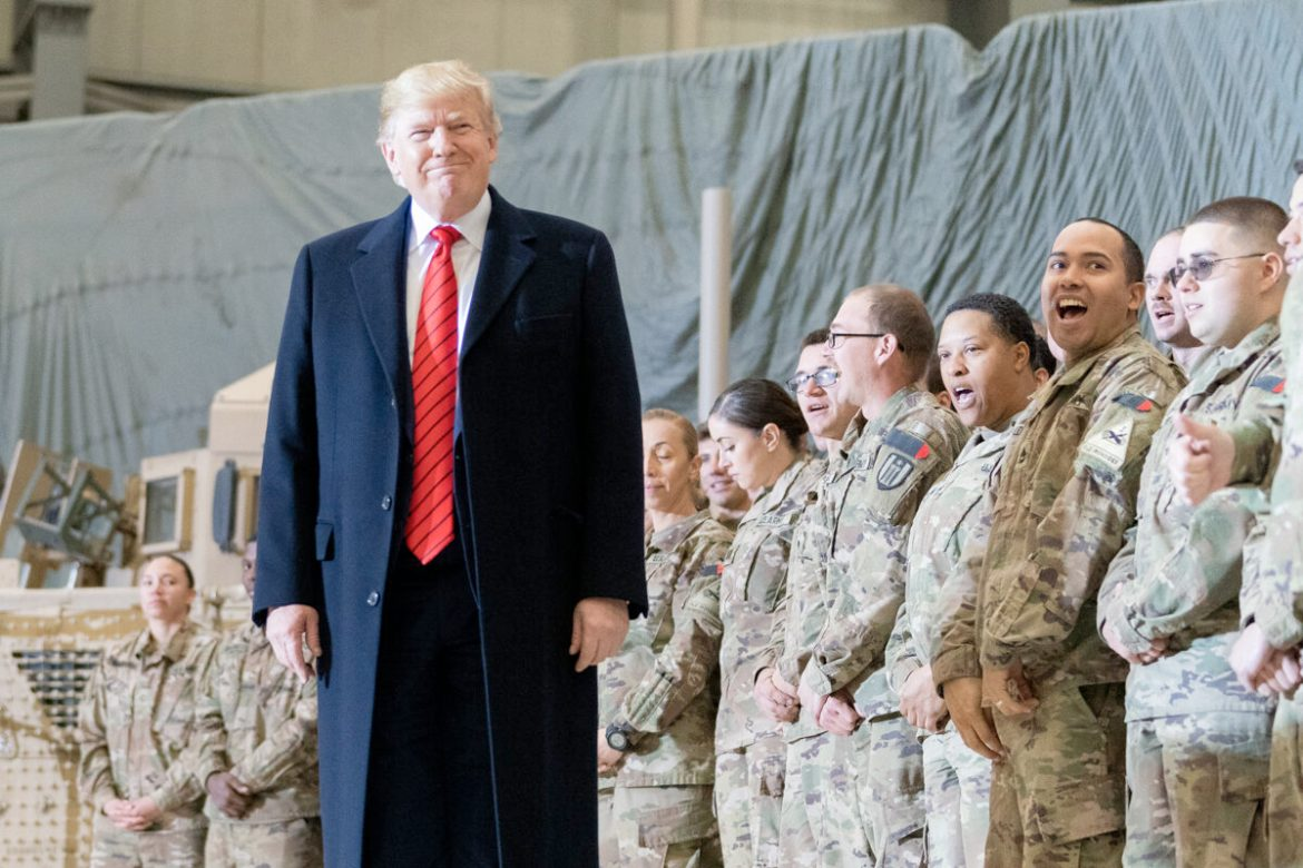 Trump Thanksgiving Afghanistan