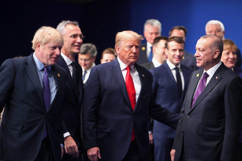 trump with erdogan, johnson