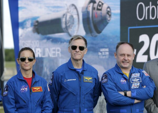 Boeing Starliner astronauts