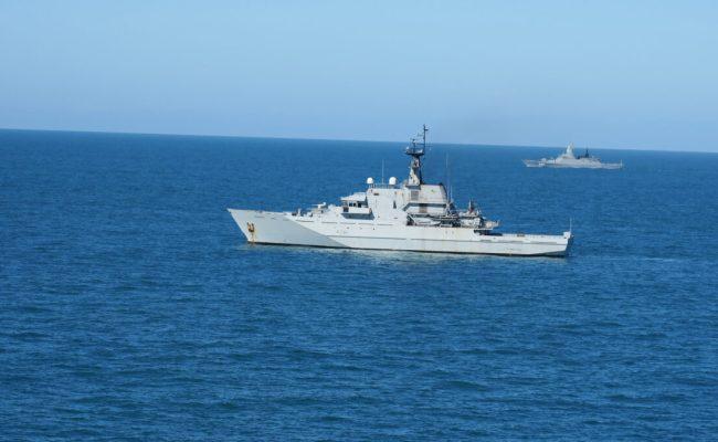 British Navy Shadows Russian Warships After Spotting