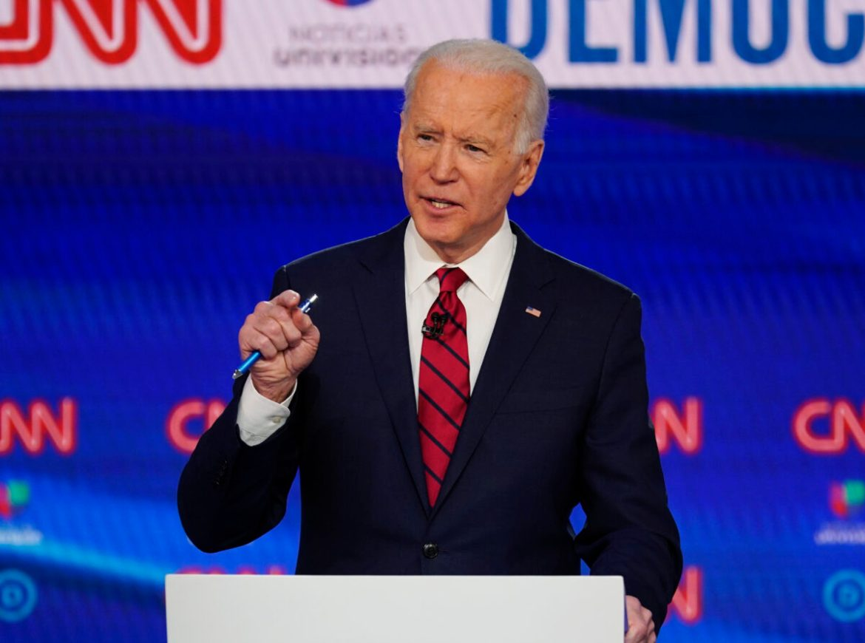 Joe Biden accused