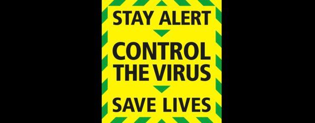 UK CCP virus Poster