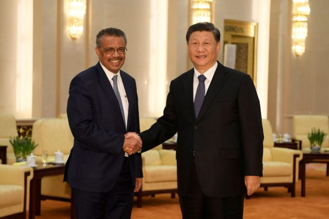 tedros in china