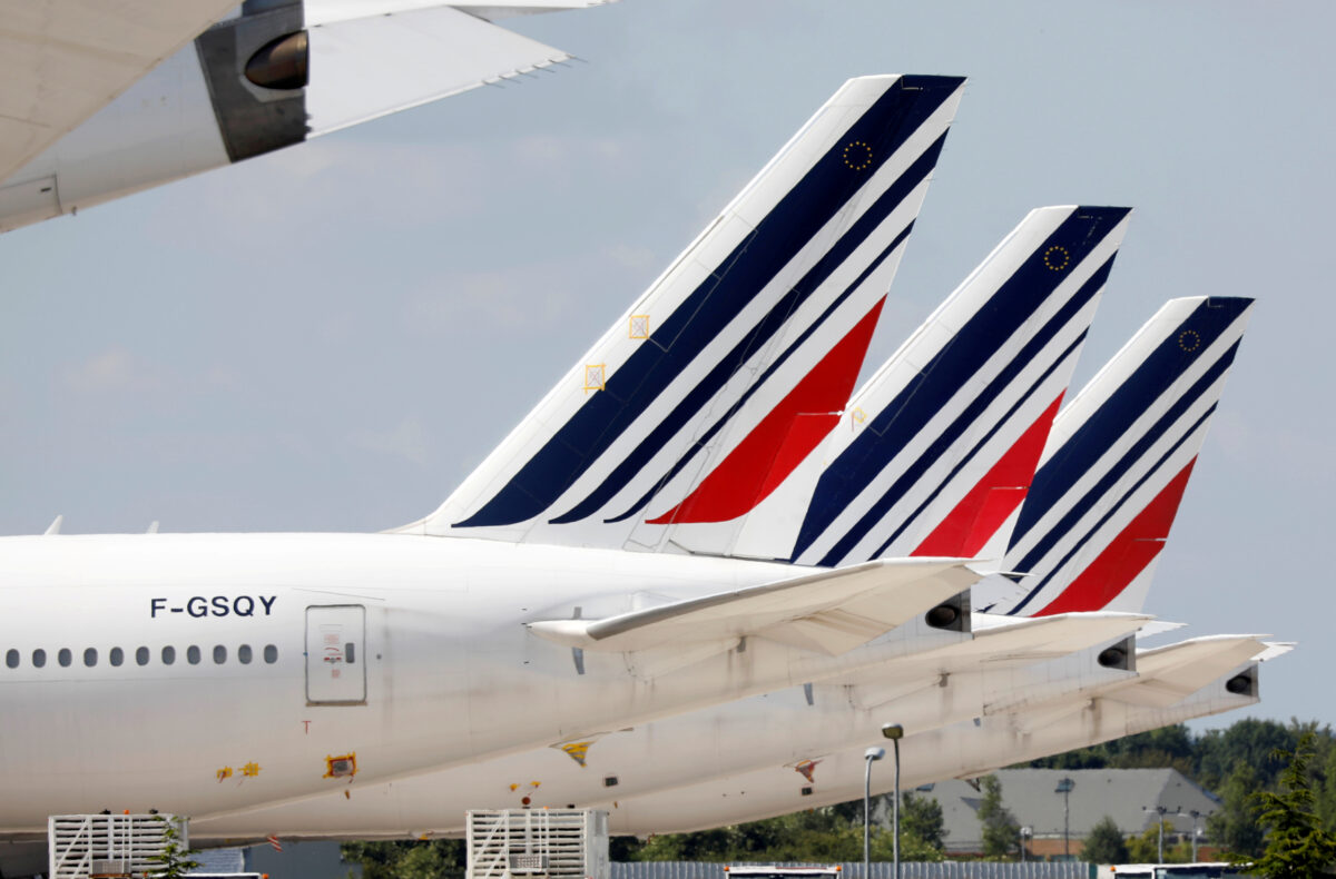 Air France Boeing 777 planes