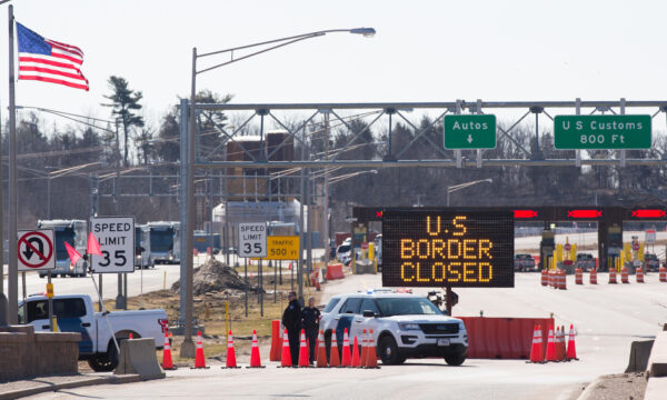 US-Canada border