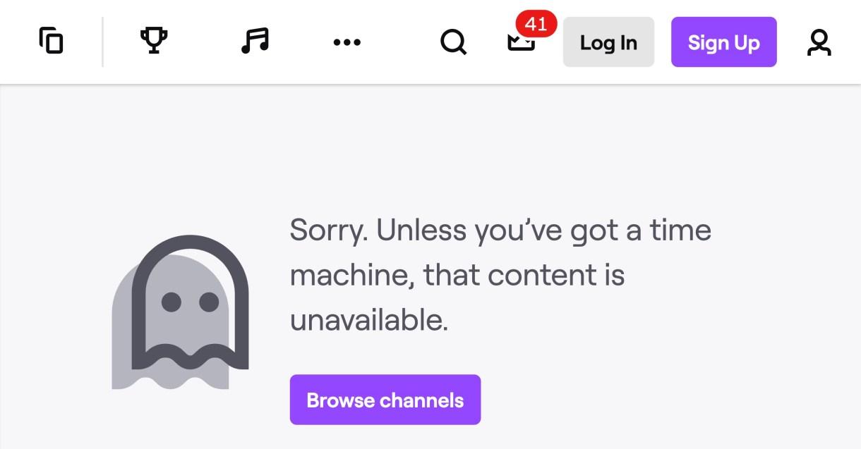 Twitch Trump Channel
