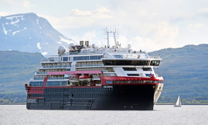 Four Crew Members on Norway Cruise Ship Hospitalized With Covid-19