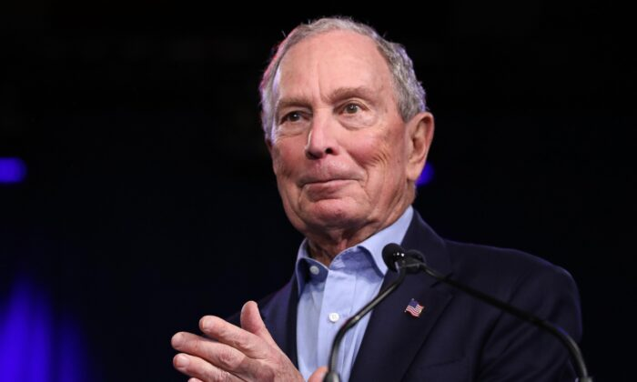 Bloomberg Pours jpg.5 Million Into Small Races in 2 Battleground States