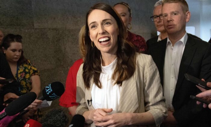 New Zealand's Ardern to Talk to Greens Next Week After Labour Election Win