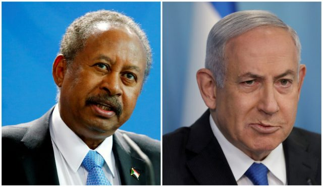 Sudan, Israel leaders