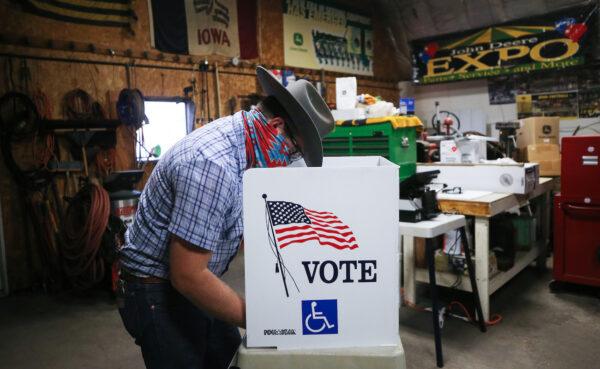 votando iowa